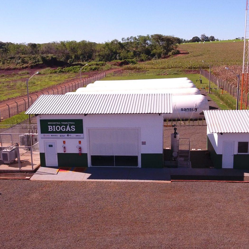 central de bioenergia a biogas