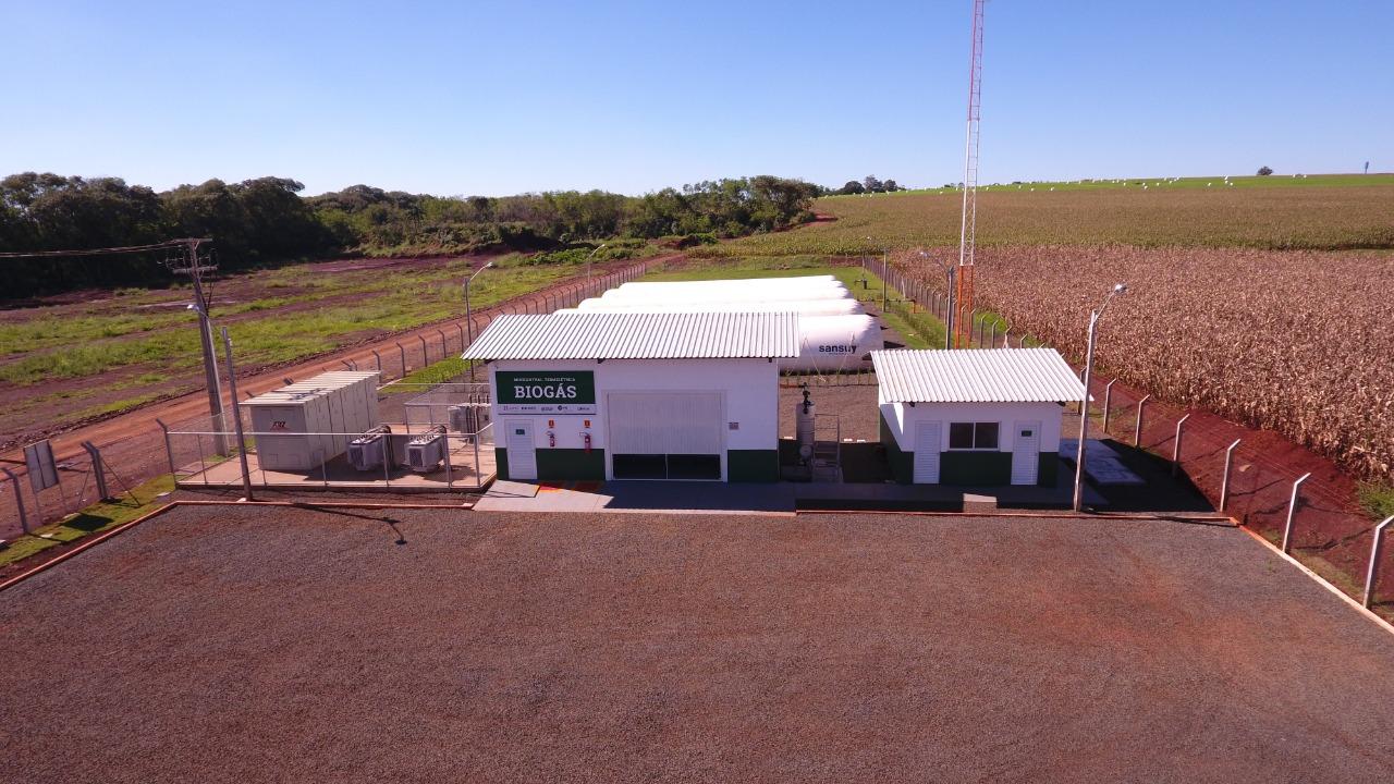 Minicentral Termelétrica localizada em Entre Rios do Oeste - PR