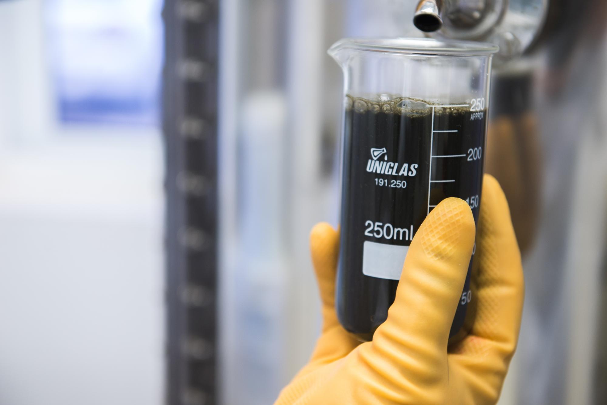 Analises de biogás